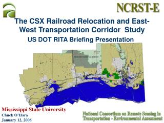 The CSX Railroad Relocation and East-West Transportation Corridor  Study