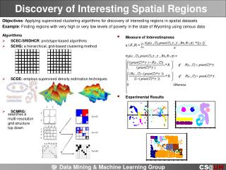 Discovery of Interesting Spatial Regions