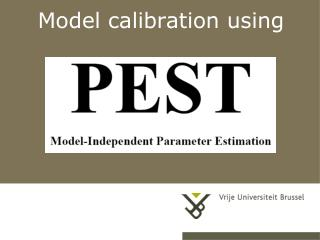 Model calibration using