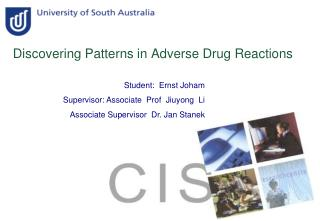 Discovering Patterns in Adverse Drug Reactions