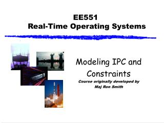 EE551  Real-Time Operating Systems