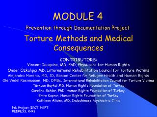 MODULE 4 Prevention through Documentation Project