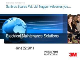 Sanbros Spares Pvt. Ltd. Nagpur welcomes you…