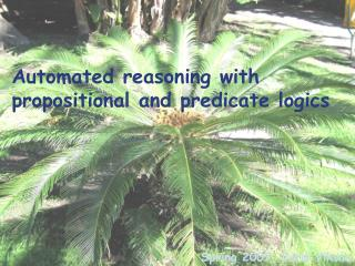 Automated reasoning with propositional and predicate logics