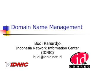 Domain Name Management