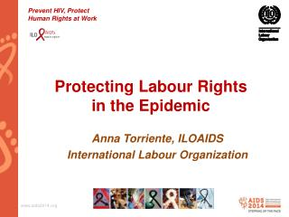 Protecting  Labour  Rights in the Epidemic