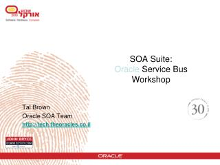 SOA Suite:  Oracle  Service Bus Workshop