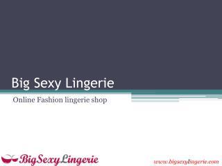 Lingerie accessories and Men's underwear shop