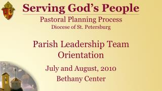 Parish Leadership Team Orientation