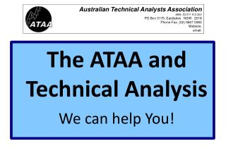 The ATAA and  Technical Analysis We can help You!