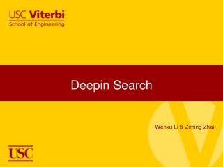 Deepin Search