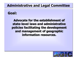 Administrative and Legal Committee