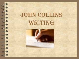 John Collins Writing