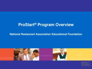 ProStart ®  Program Overview