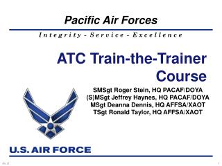 ATC Train-the-Trainer Course