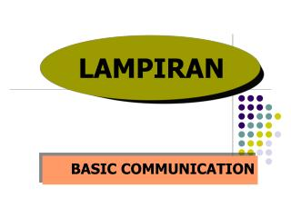 BASIC COMMUNICATION