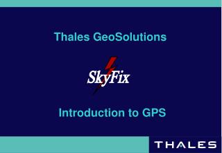 Thales GeoSolutions