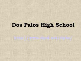 Dos Palos High School