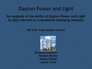 Dayton Power and Light