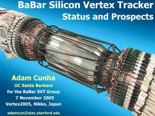 BaBar Silicon Vertex Tracker Status and Prospects