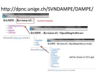 dpnc.unige.ch/SVNDAMPE/DAMPE/