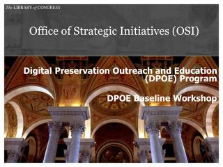 Office of Strategic Initiatives (OSI)