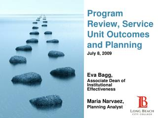 Program Review, Service Unit Outcomes and Planning