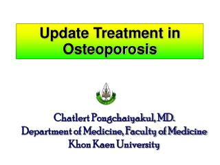 Update Treatment in Osteoporosis