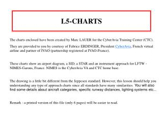 L5-CHARTS The charts enclosed have been created by Marc LAUER ...