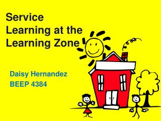 Service Learning at the Learning Zone