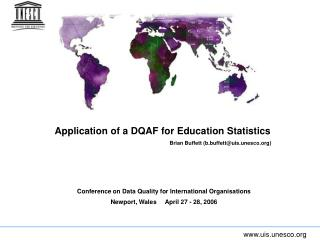 Application of a DQAF for Education Statistics
