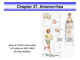 Chapter 27. Amenorrhea