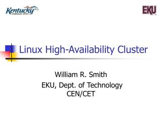 Linux High-Availability Cluster