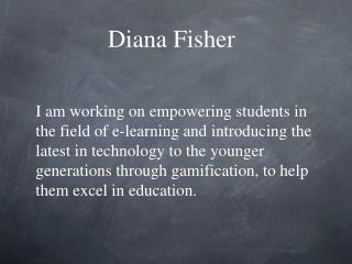 Diana Fisher