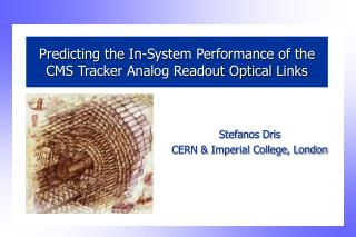 Predicting the In-System Performance of the CMS Tracker Analog Readout Optical Links