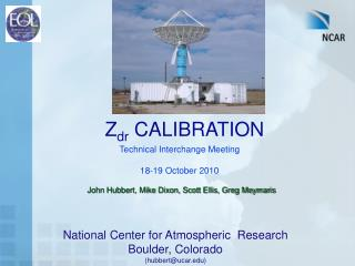 Z dr  CALIBRATION