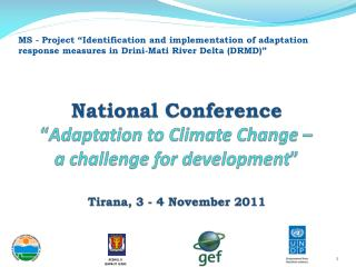 Objective of the National Conference