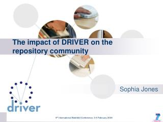 The impact of DRIVER on the repository  community
