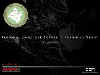 r egional Land Use  s cenario Planning Study