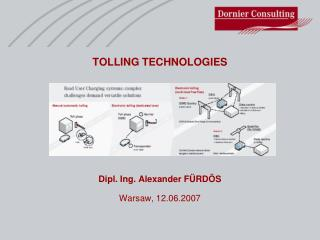 TOLLING TECHNOLOGIES