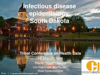 Infectious disease epidemiology,  South Dakota