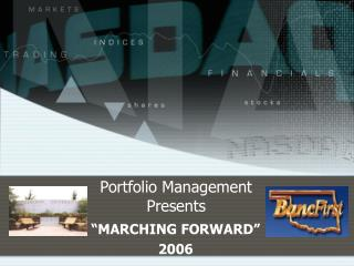Portfolio Management Presents