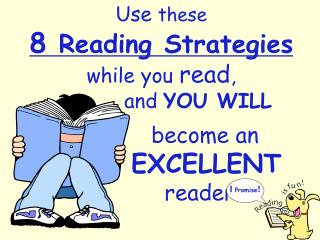 become an     EXCELLENT        reader!