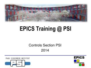 EPICS Training @ PSI