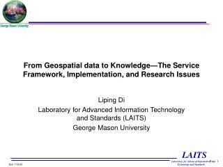 From Geospatial data to Knowledge