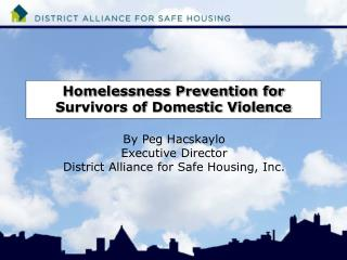Homelessness Prevention for Survivors of Domestic Violence