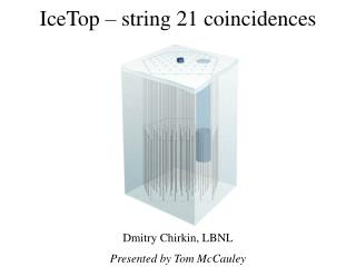 IceTop – string 21 coincidences