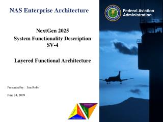 NAS Enterprise Architecture
