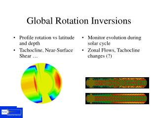 Global Rotation Inversions