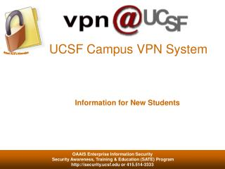 UCSF Campus VPN System